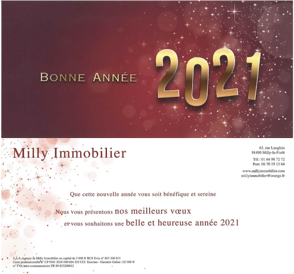 Ba milly immobilier
